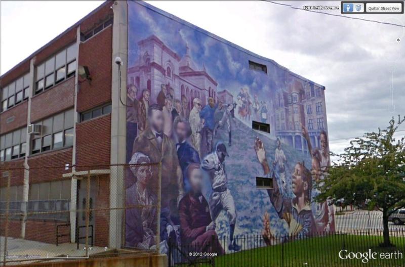 STREETVIEW : les fresques murales de Philadelphie  - Page 13 Histor10