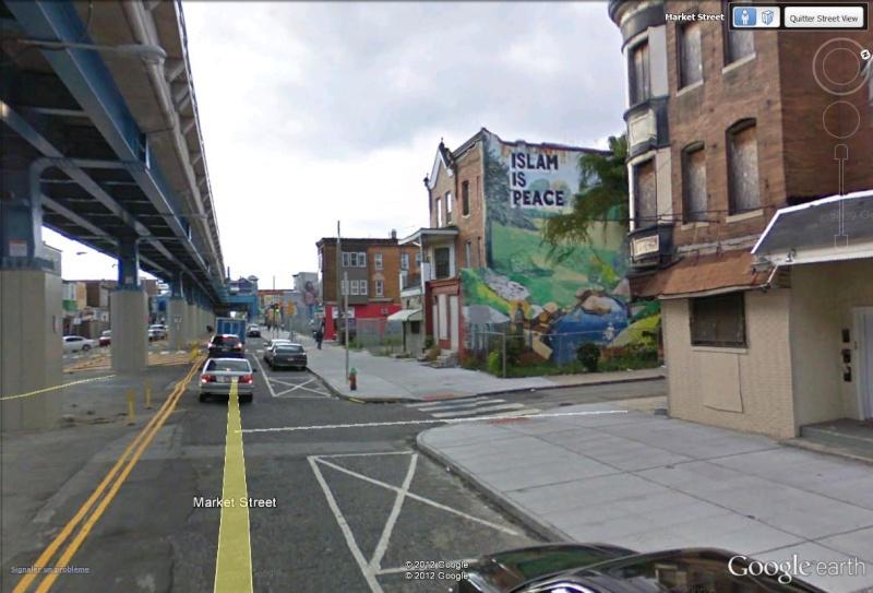 STREETVIEW : les fresques murales de Philadelphie  - Page 12 Islam11