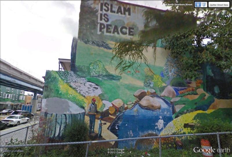 STREETVIEW : les fresques murales de Philadelphie  - Page 12 Islam_10