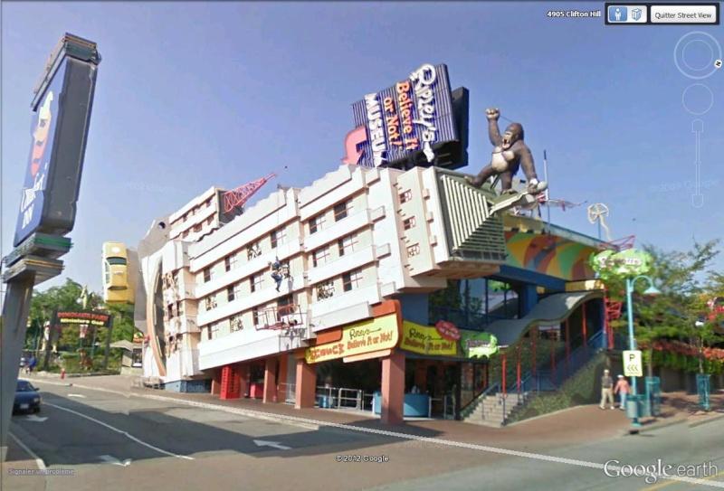 STREET VIEW : King Kong à Niagara Falls (Canada) : trop lourd, le ouistiti ! Kink_k10