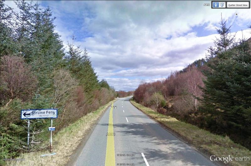 Stromeferry, Highlands, Ecosse : contrairement à ce que son nom indique Strome10