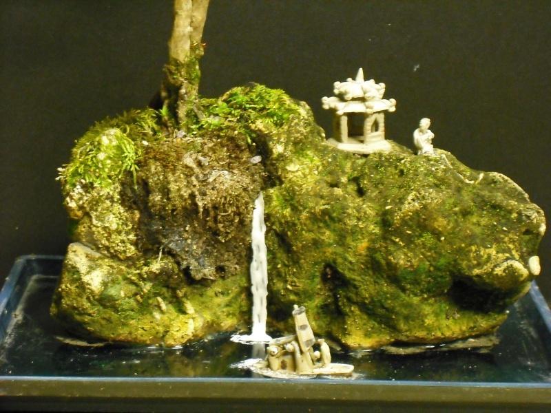 Adding waterfall to penjing experiment Bonsai13