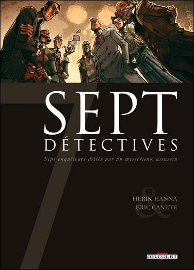 Sept - Tome 13: Sept Détectives [Hanna & Canete] 97827511