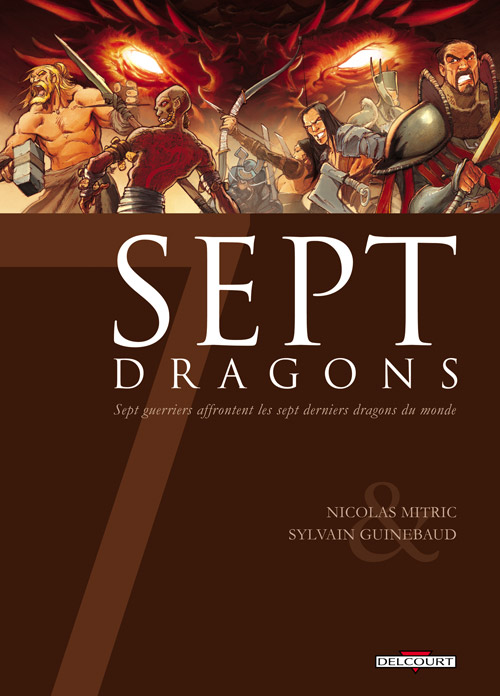 Sept - Tome 12: Sept Dragons [Mitric & Guinebaud] 97827512