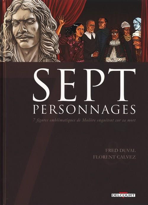 Sept - Tome 9: Sept Personnages [Duval & Calvez] Couv_111