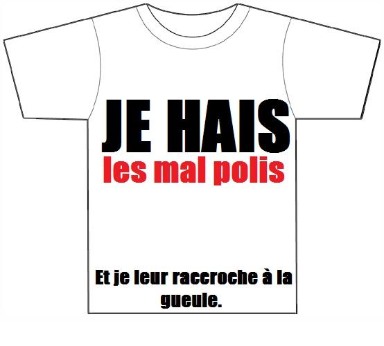 Tshirts sur le marché de Morsay Jehais10
