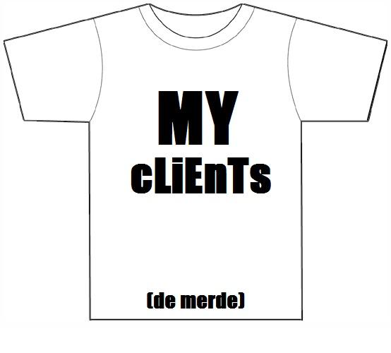 Tshirts sur le marché de Morsay Myclie10