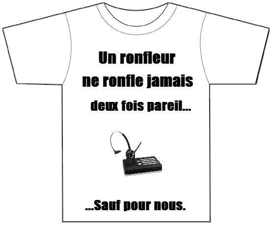 Tshirts sur le marché de Morsay Ronfle10