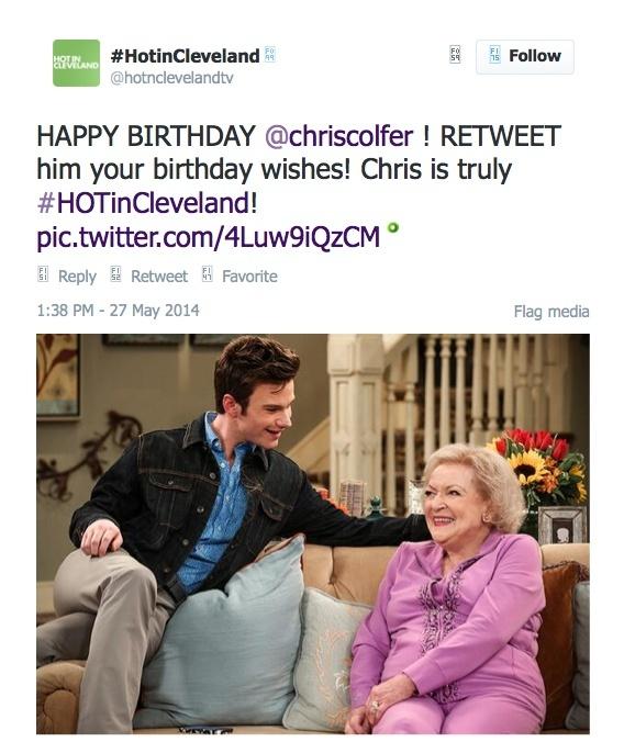 Chris Colfer Tweets - Page 3 Twitte13