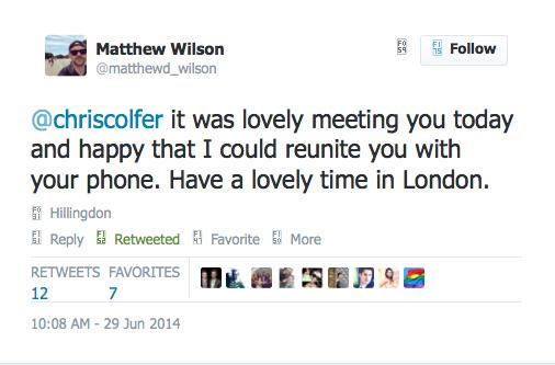 Chris Colfer Tweets - Page 5 Twitte22