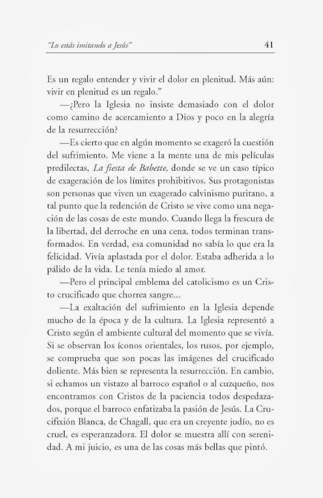 Bergoglio plaisante au sujet de la Crucifixion de Notre-Seigneur Libror10