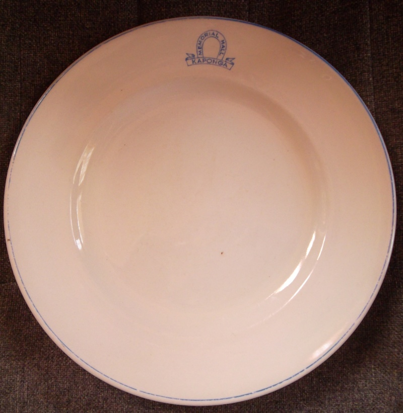 808/10 Navy Plate Vitrified is a 4646 00311