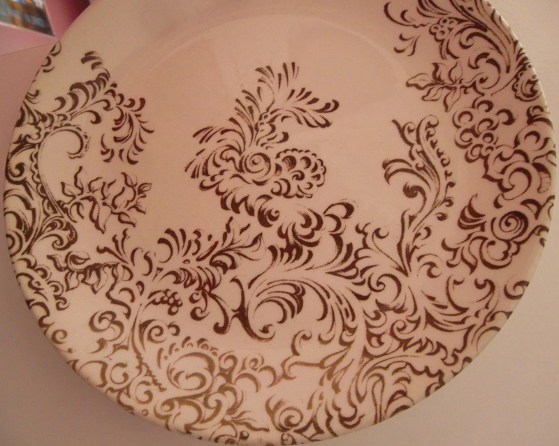 No Namer - Brown filigree Pattern is Rococco 640 Brown_10
