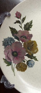 Side plate with Flowers.. Photo10