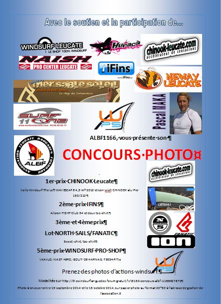 Concours ALBF 1166 Affich17