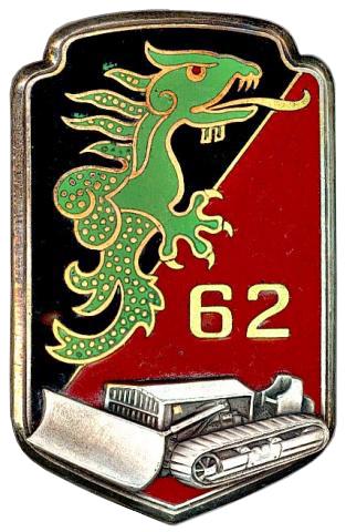 62° Bataillon du Génie. INSIGNE DU BATAILLON EN INDOCHINE 62e_bg10