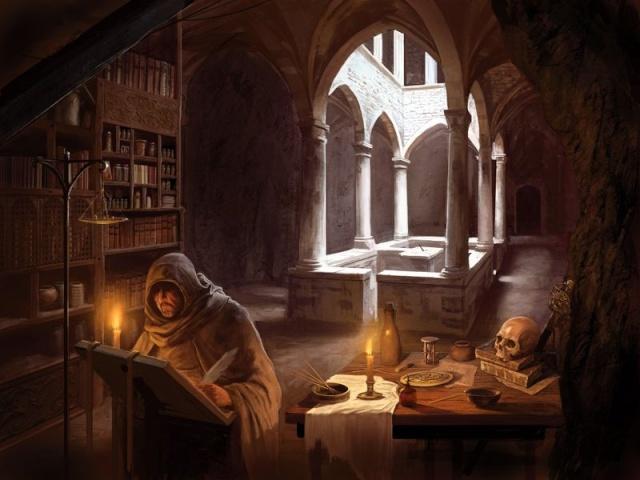 Bibliothèques et livres des songes Bibli610