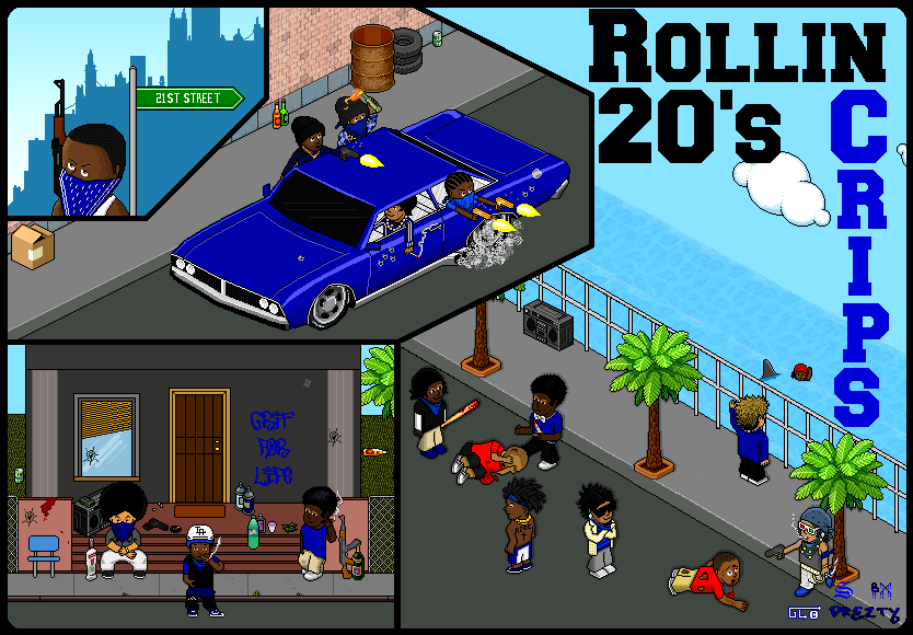 Rollin 20's Crips