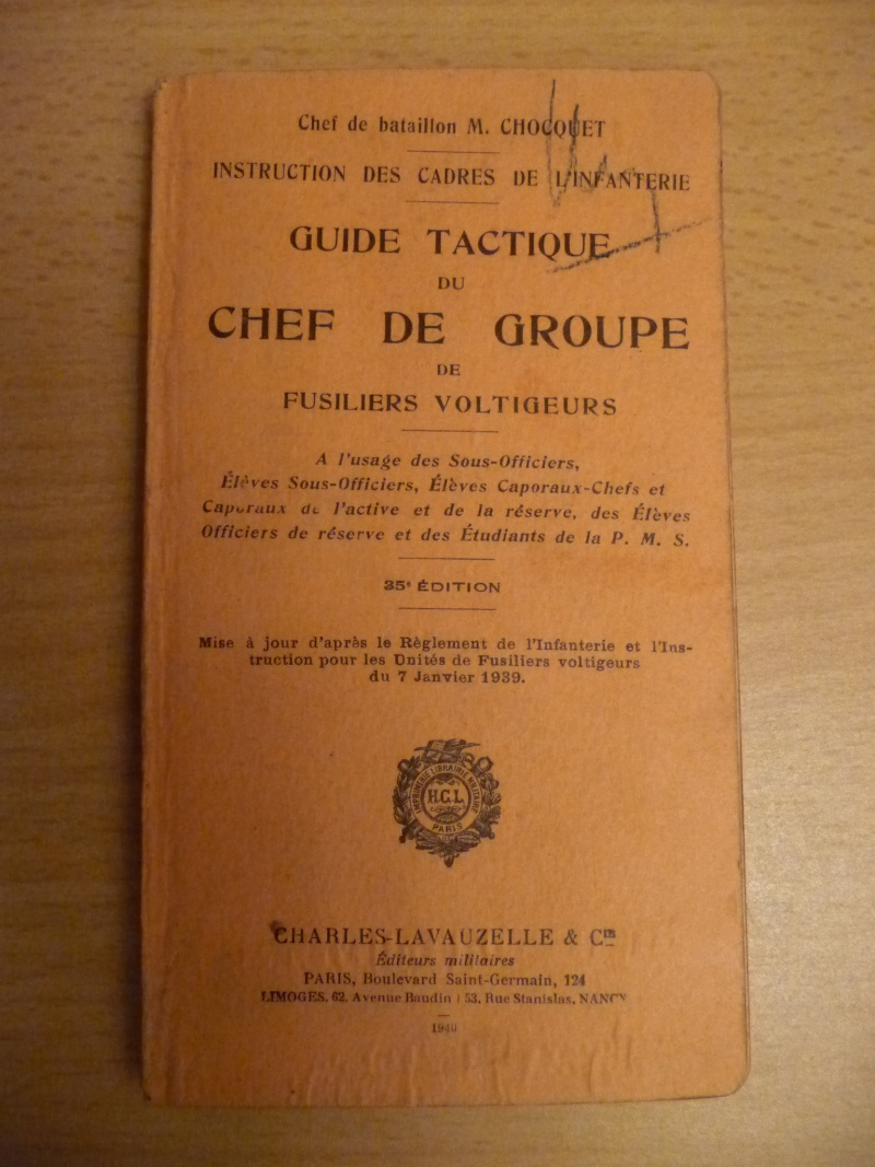 Guide tactique du Chef de groupe de fusiliers voltigeurs P1080413