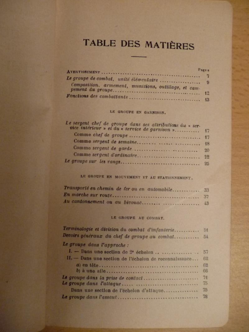 Guide tactique du Chef de groupe de fusiliers voltigeurs P1080414
