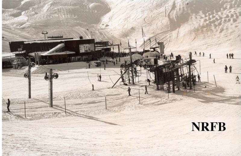 Histoire du domaine skiable de Tignes Bollin10
