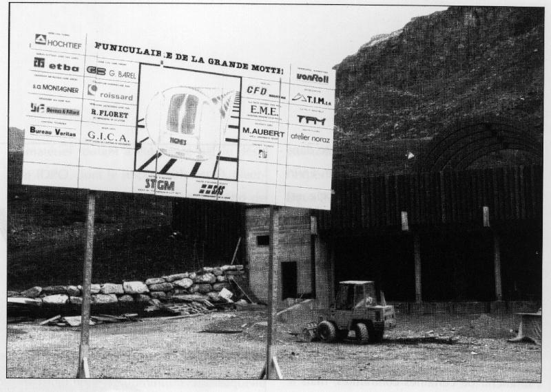 [Tignes] Grande Motte: de la télécabine au funiculaire Percen10