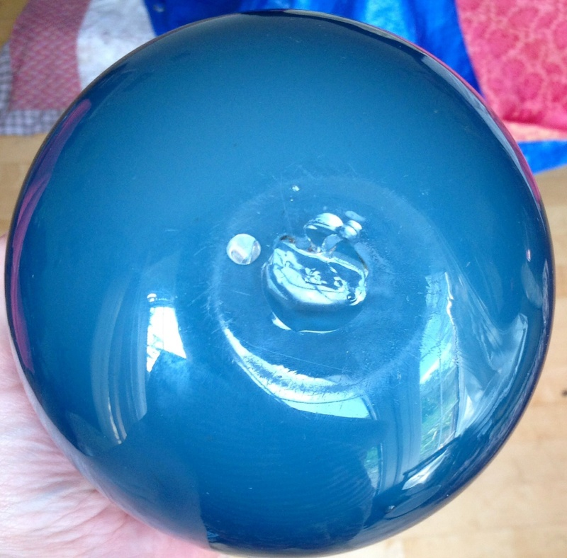 Blue bowl with red knot Image26