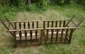 Pair of oak armchairs Dscn8322