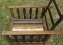 Pair of oak armchairs Dscn8326