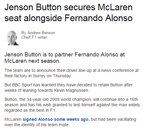 Button to Partner Alonso for 2015 Button10