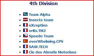 ESL saison n°4: CPS13 Eslg10