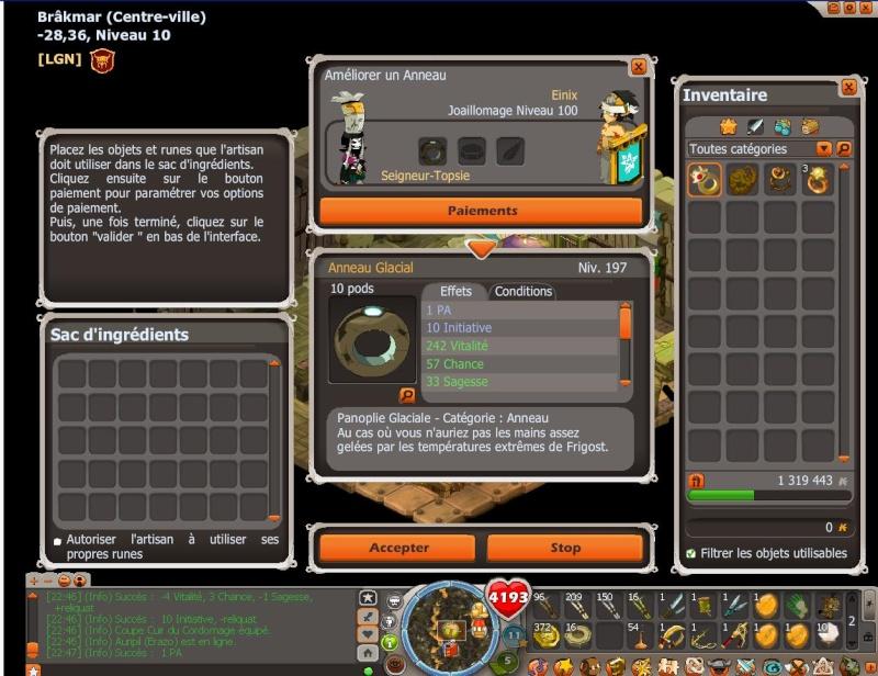 Screens en tout genre, mettez vos exploits en ligne! - Page 5 Glacia10