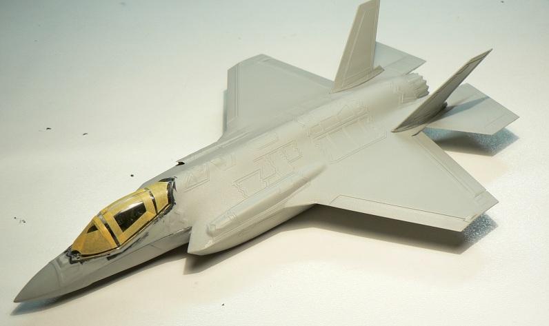 [Italeri] Lockheed Martin F-35 A Lightning II 1-417