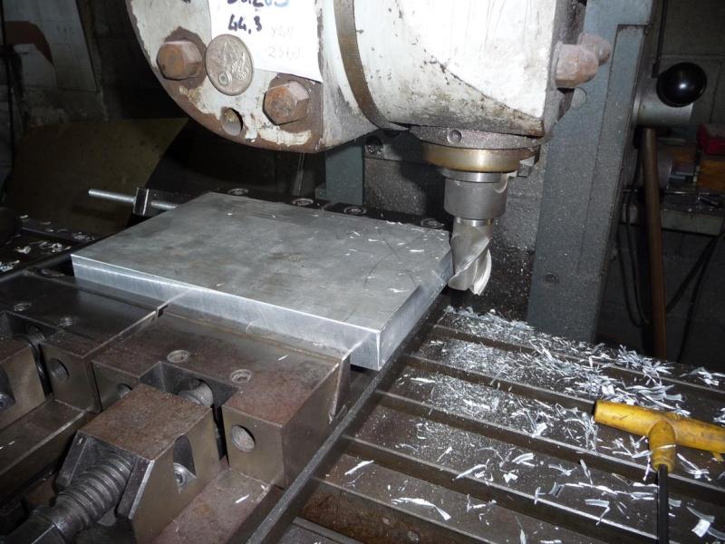Un broyeur, où plutôt un applatisseur à grains P1040321