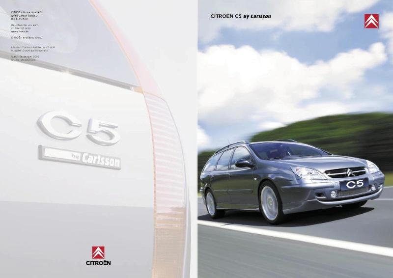 Annonce E500 Break Edition Carlsson 450CH Brochu12