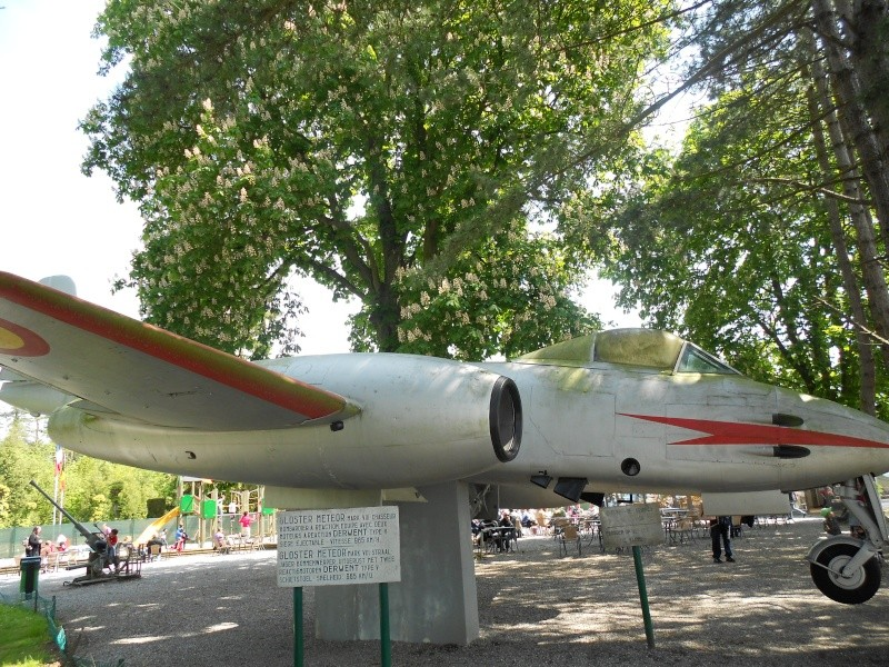 """Le """"Gloster Meteor"""" . Dinant13"""