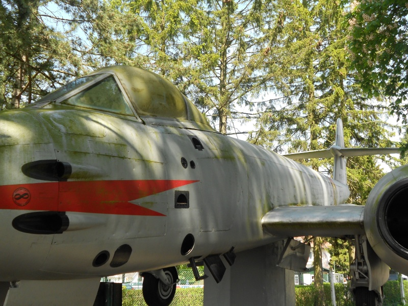 """Le """"Gloster Meteor"""" . Dinant15"""