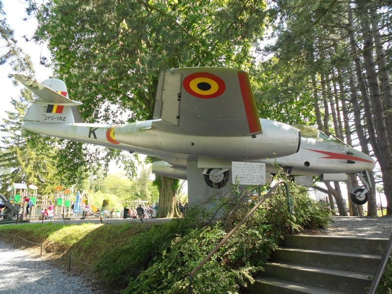 """Le """"Gloster Meteor"""" . Dinant18"""