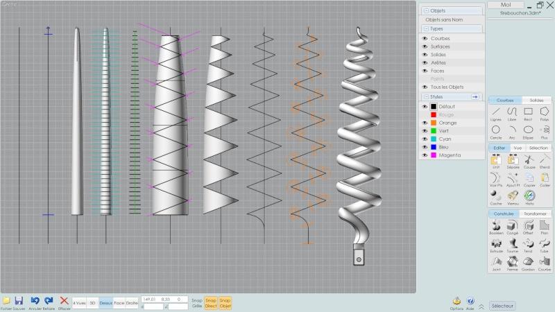 [TUTO] Modélisation d'un tournevis avec Moi3D 1310