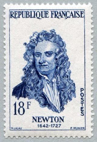Philatélie spatiale France - 1957 - Nicolas Copernic et Isaac Newton 1957_114