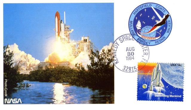 30ème anniversaire de la mission STS-41D / 1er vol de la navette spatiale Discovery 1984_010