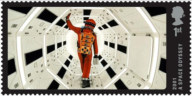 Emission d'un timbre ''2001 A Space Odyssey'' par la poste britannique 2001_s10