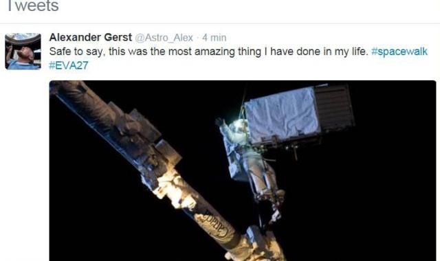 Vol spatial d'Alexander Gerst / Expedition 40 et 41 - BLUE DOT / Soyouz TMA-13M Alex_110