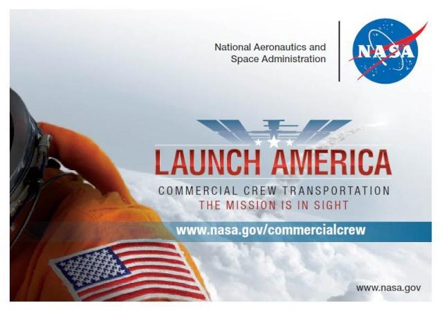 Trading Card NASA en ligne - Commercial Crew Program Cct_vu10