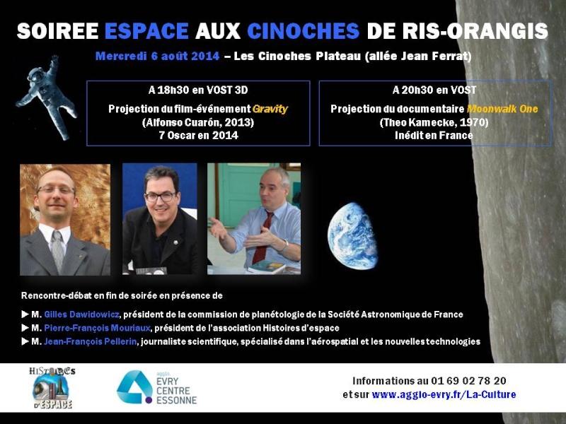 6 août 2014 - Ciné-débat à Ris-Orangis autour de Moonwalk One Cinoch10