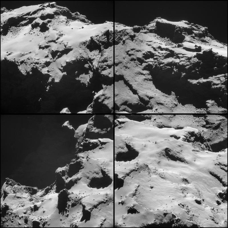 Rosetta - Réveil de la sonde / Mission / Atterrissage de Philae - Page 2 Comet_13