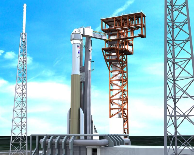 CDR (Critical Design Review) terminée pour ULA et le pad de lancement pour la CST-100 Cst-1010