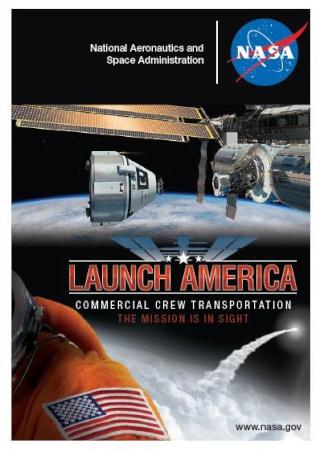Trading Card NASA en ligne - Commercial Crew Program Cst-1011