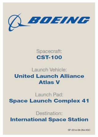 Trading Card NASA en ligne - Commercial Crew Program Cst-1012