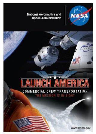 Trading Card NASA en ligne - Commercial Crew Program Dragon10